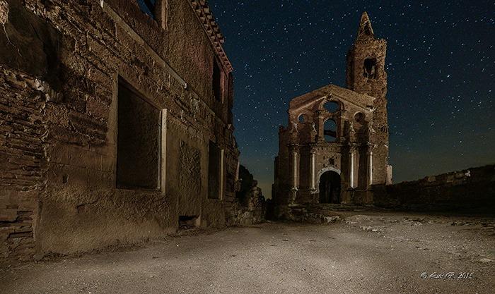 Escenarios Cine Belchite Lugares Abandonados Zaragoza Abandoned Spain España Urbex