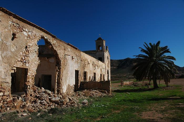 Escenarios Cine El Bueno el feo y el malo Lugares Abandonados Almeria Abandoned Spain España Urbex