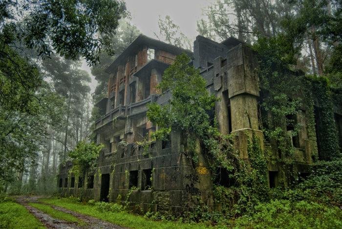 Sanatorio Cesuras Lugares Abandonados Galicia Coruña Abandoned Spain España Urbex
