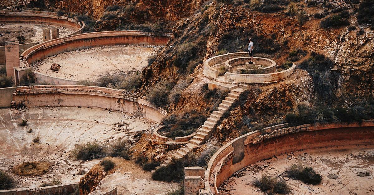 Minas Oro Rodalquilar Lugares Abandonados Almeria Andalucia Abandoned Spain España Urbex