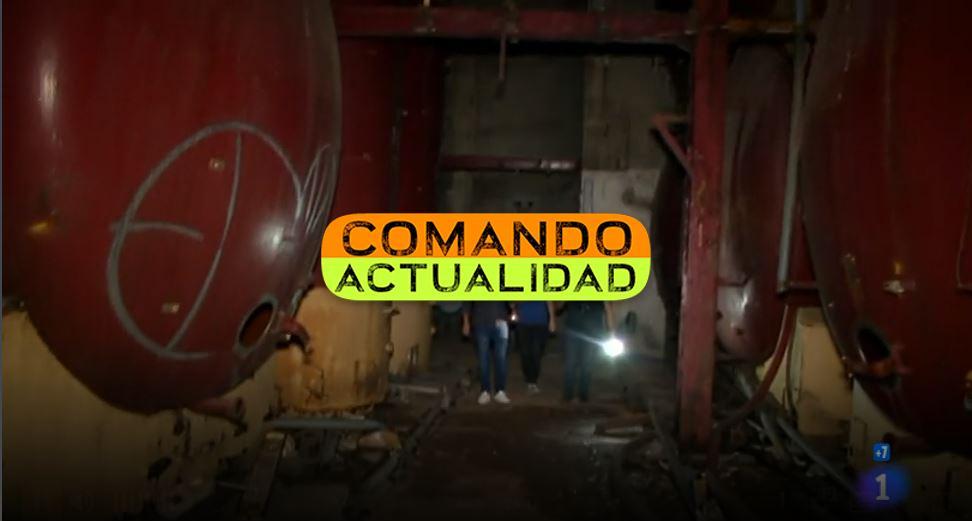 Programa Comando Actualidad TV1 Abandoned Spain